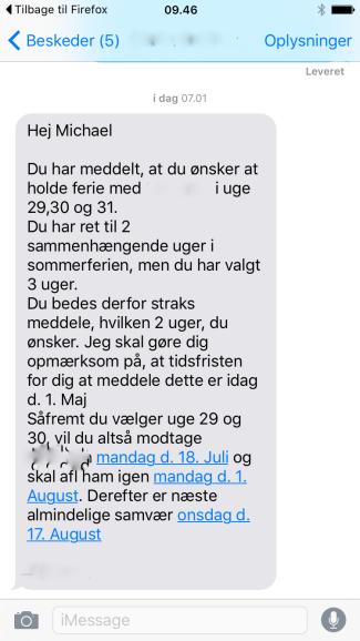 sms 1 sommer