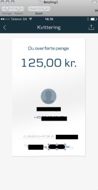 Betaling for deltagelse i fædreturen, 2015